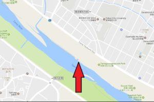 釣りポイント 多摩川